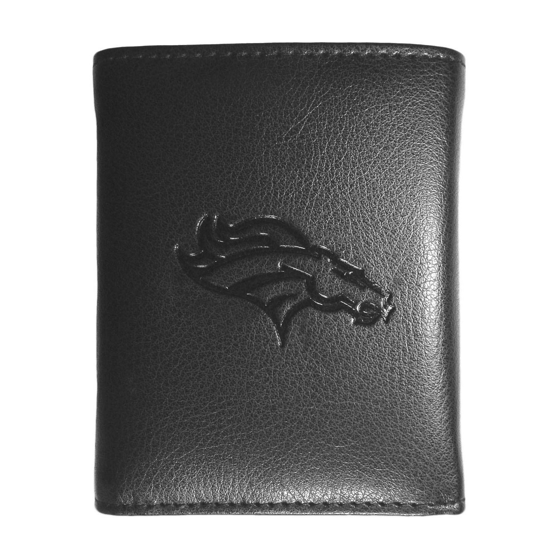 Siskiyou NFL Sports Team Denver Broncos Embossed Tri-fold Wallet