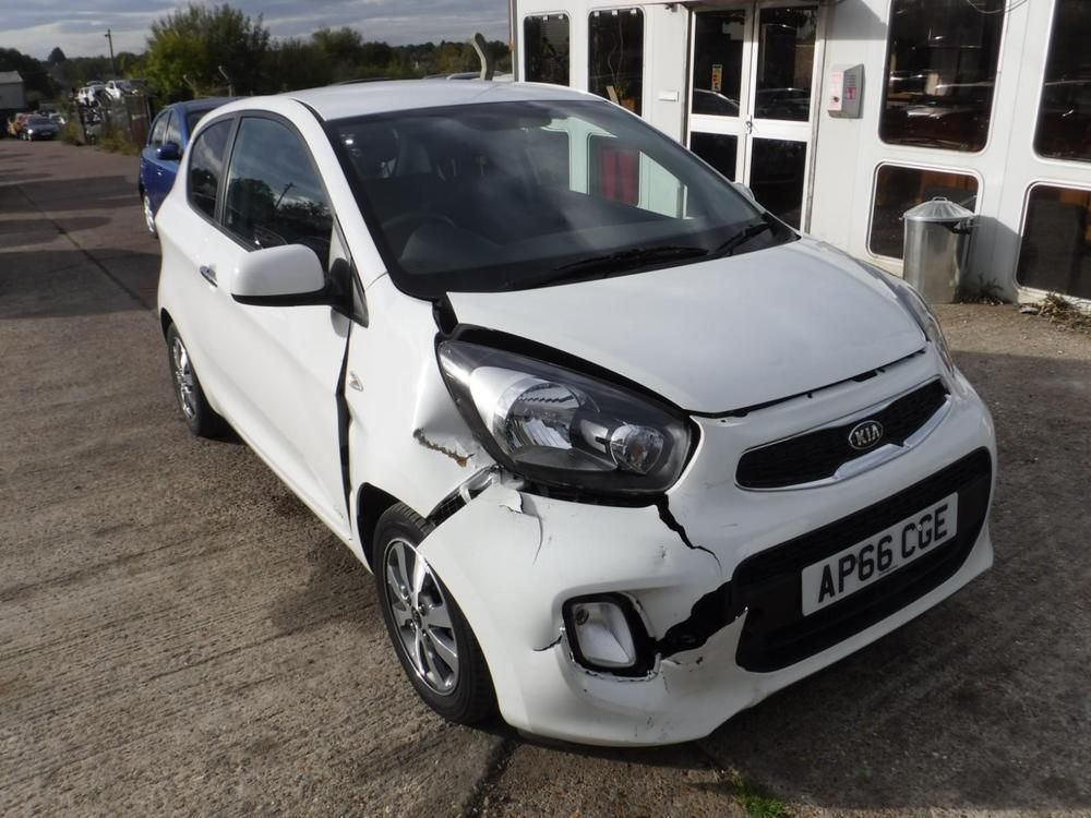Ebay Kia Picanto 1 0 65bhp 2016my Sr7 Salvage Damaged