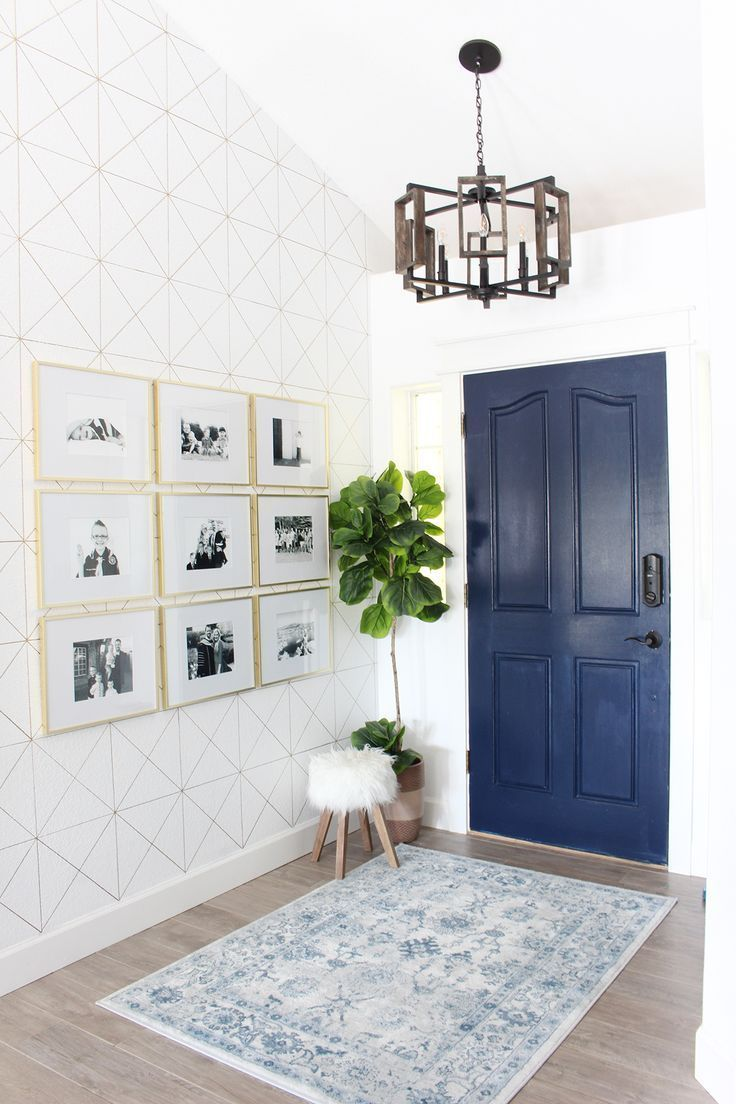 Park Home Reno: Entry Way Makeover - Classy Clutter | Home ...