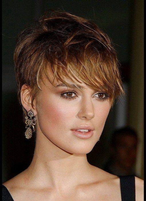 coupe de cheveux court brune Recherche Google Coiffure