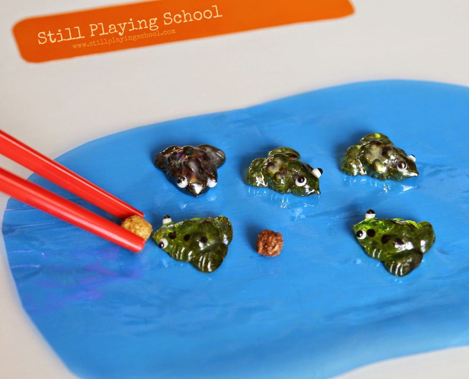 Five Green And Speckled Frogs Game With Images