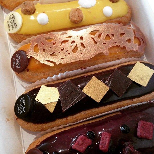 Il est l'heure du goûter par ici. Yummy #foodporn #yummy #teambouboule #gourmandises #gloutonnerie #passion #leclairdegenie @leclairdegenieofficiel #MCM_Spotted