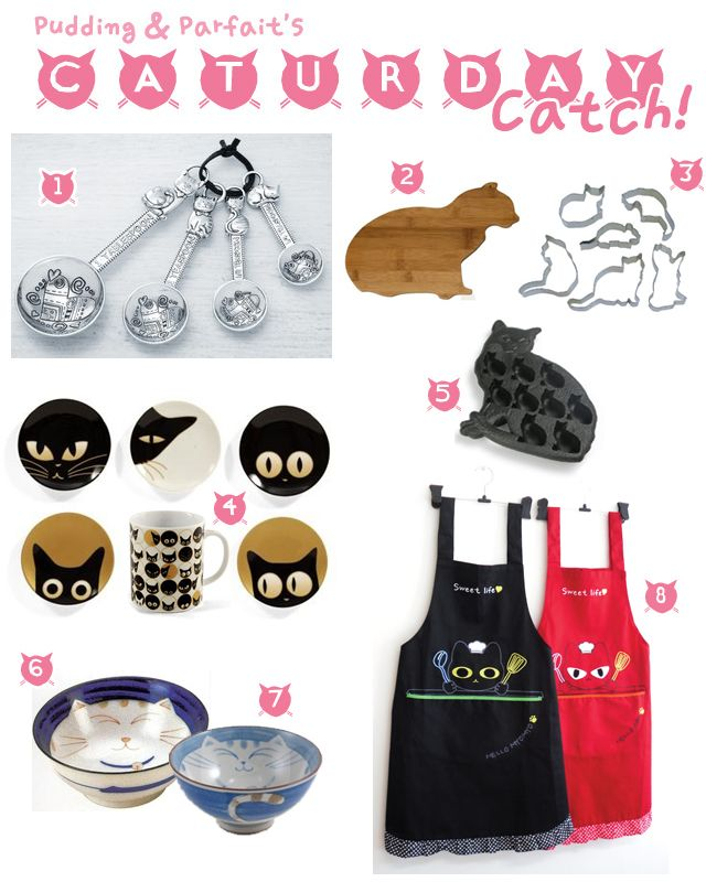 Cat Lover Kitchen Accessories This Weeku0027s Catch: Cute Cat Themed Kitchen  Decor! 1)