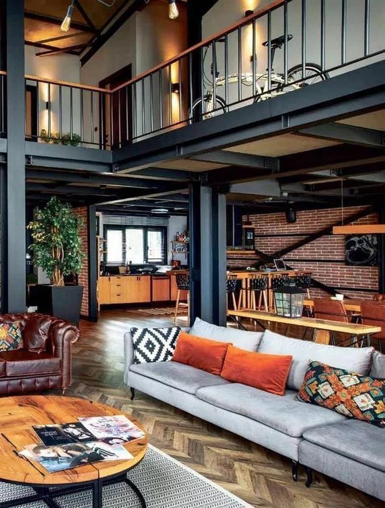 ✔88 great decorating ideas for living room 44 #loftdesign
