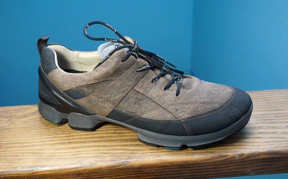 3b259917c9ce Men ECCO Biom Walk 1.3 Bigfoot Yak Leather Brown Walking Hiking Shoes 45 11  11.5  ECCO  Walking