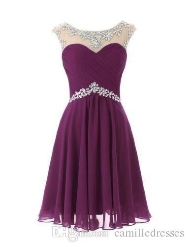 Newest Short Formal Prom Dresses Cheap Mini Prom Dress Short Pink ...