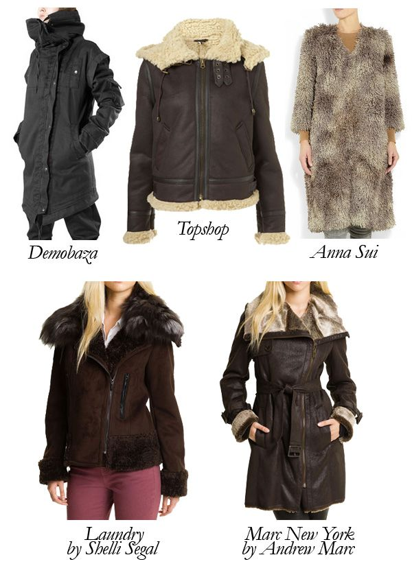 Best Faux Shearling Coats Under $500: Shear Joy by Couture Snob ...