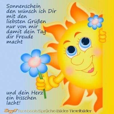 Hallo Und Einen Schönen Tag Euch Allen Guten Morgen Grüße Guten