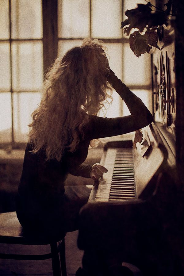 "I ran my hands along the keys, stopping on a C. I gently pressed the key down, only for it to play any note other than C. I leaned my elbow on the top and started crying. ""Out of all the things I had you had to ruin the one thing that meant anything to me."""