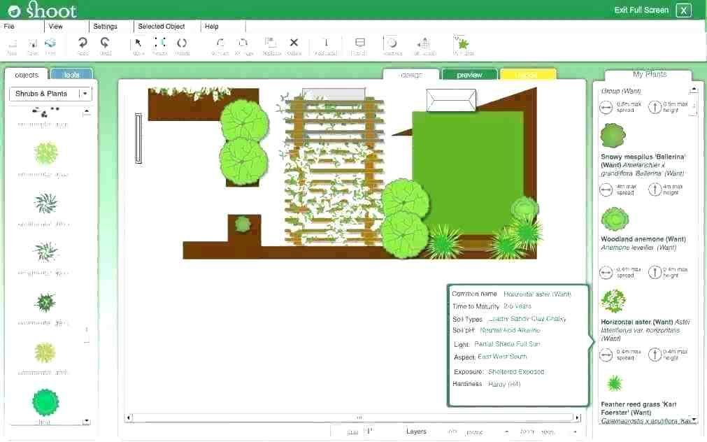Landscape Garden Design Software Encuestaminfo Gardening