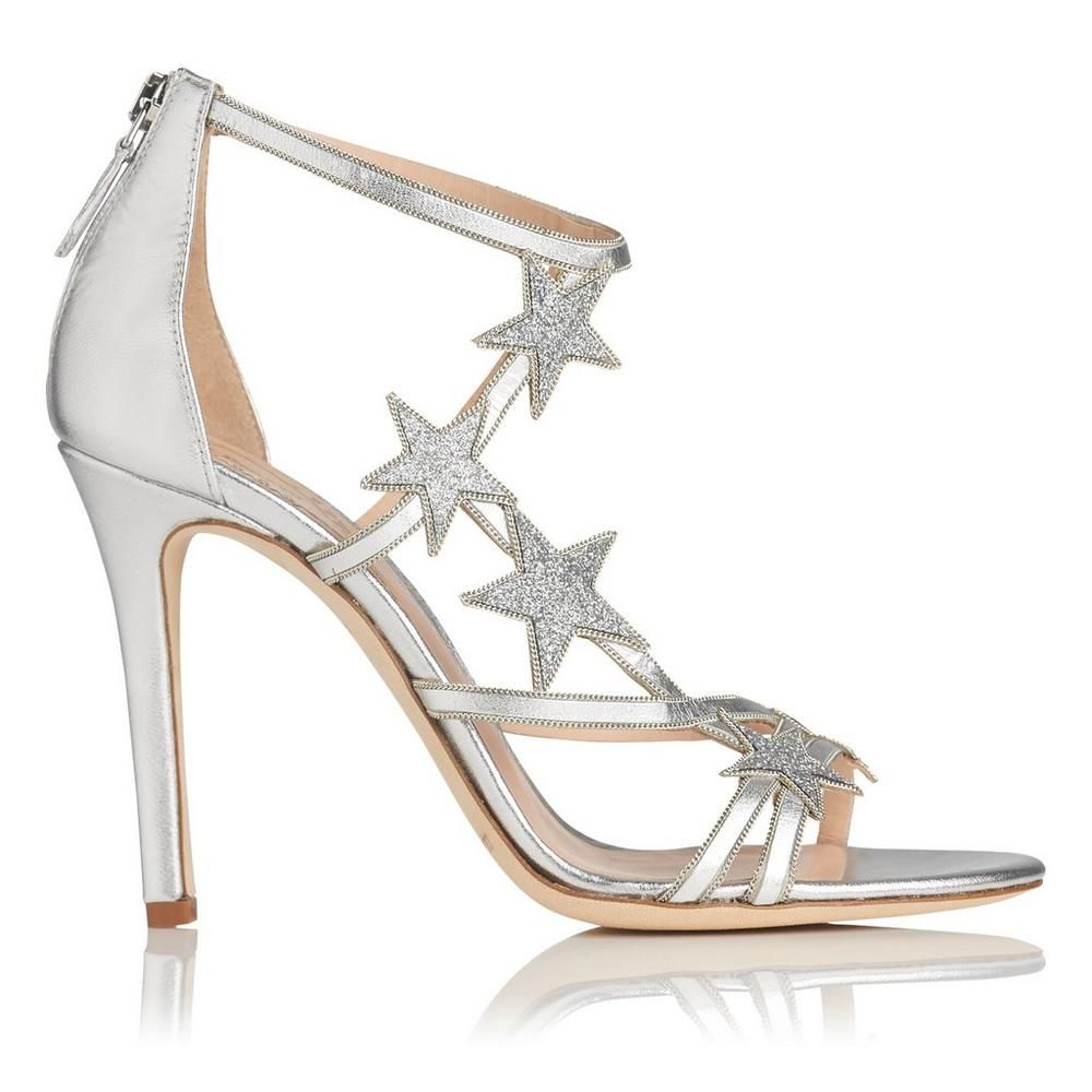 d350f2c46cc Felicity Silver Leather Sandals