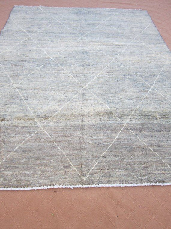 Best Size 9 2 Ft By 7 4 Ft Handmade Rug Moroccan Thick Soft 400 x 300