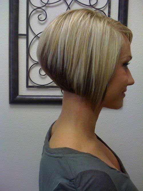 15 Very Short Bobs Bob Haircut And Hairstyle Ideas Angled Bob Hairstyles Short Hair Styles Inverted Bob Hairstyles