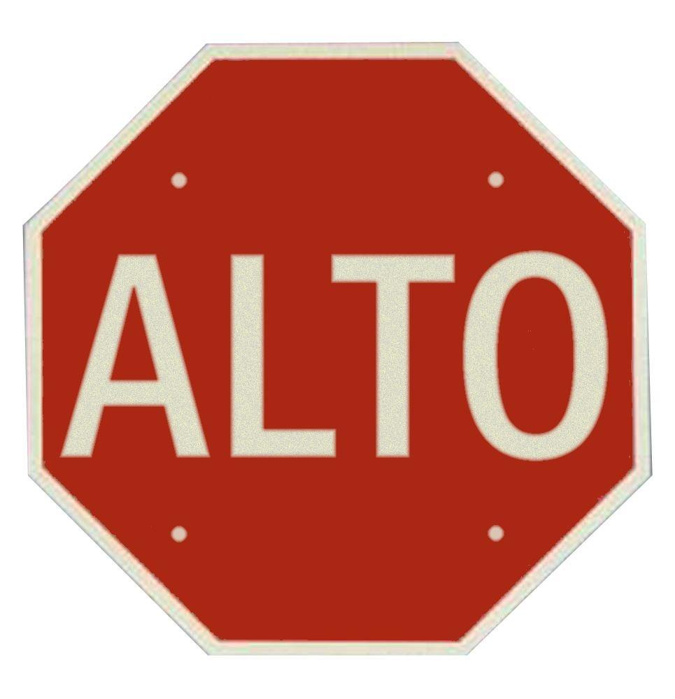 alto | señal de \'Alto\' | Carteles y señales | Pinterest | Alto y ...