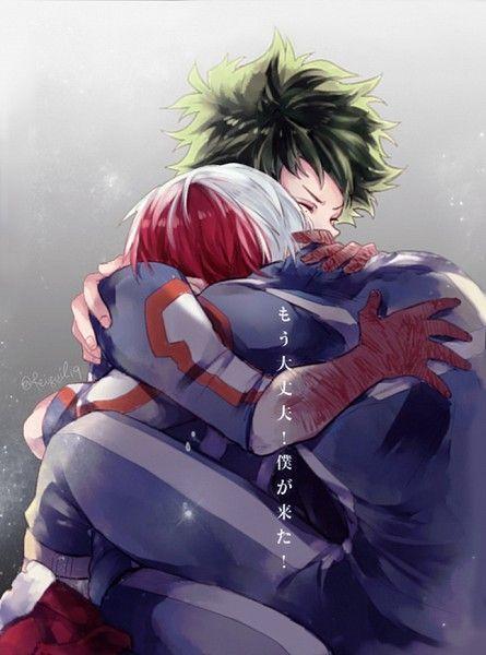 Boku no Hero Academia, meine Hero Academia, Shouto Todoroki, Izuku Midoriya - #Academia #Boku #Hero #Izuku #Meine #Midoriya #Shouto #Todoroki