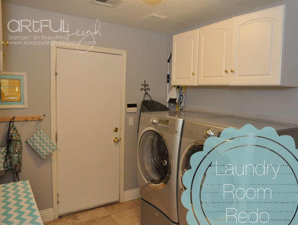 Gray Paint A Quick Laundry Room Makeover Using Olympic