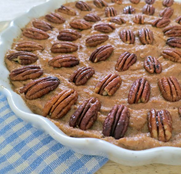 totally healthy pecan pie