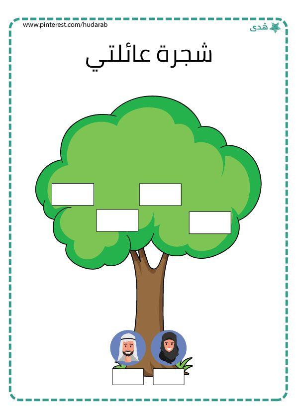 شجرة العائلة School Border Beautiful Arabic Words Words