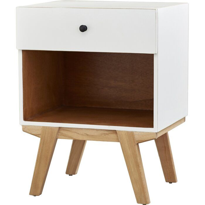 Best Amoroso 1 Drawer Nightstand With Images Drawer 400 x 300