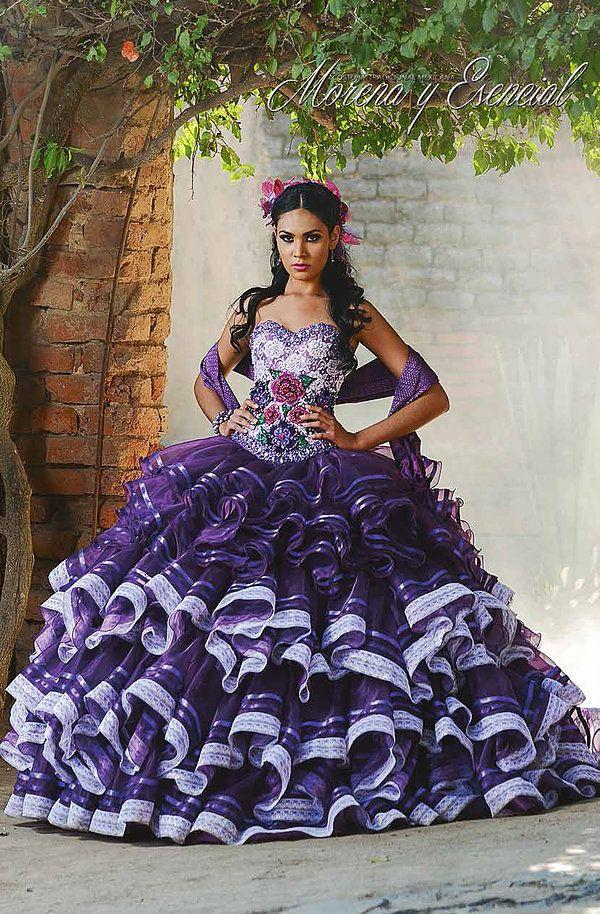 diseños de Vestidos de xv años | TÍPICOS ESTILIZADOS | Pinterest ...