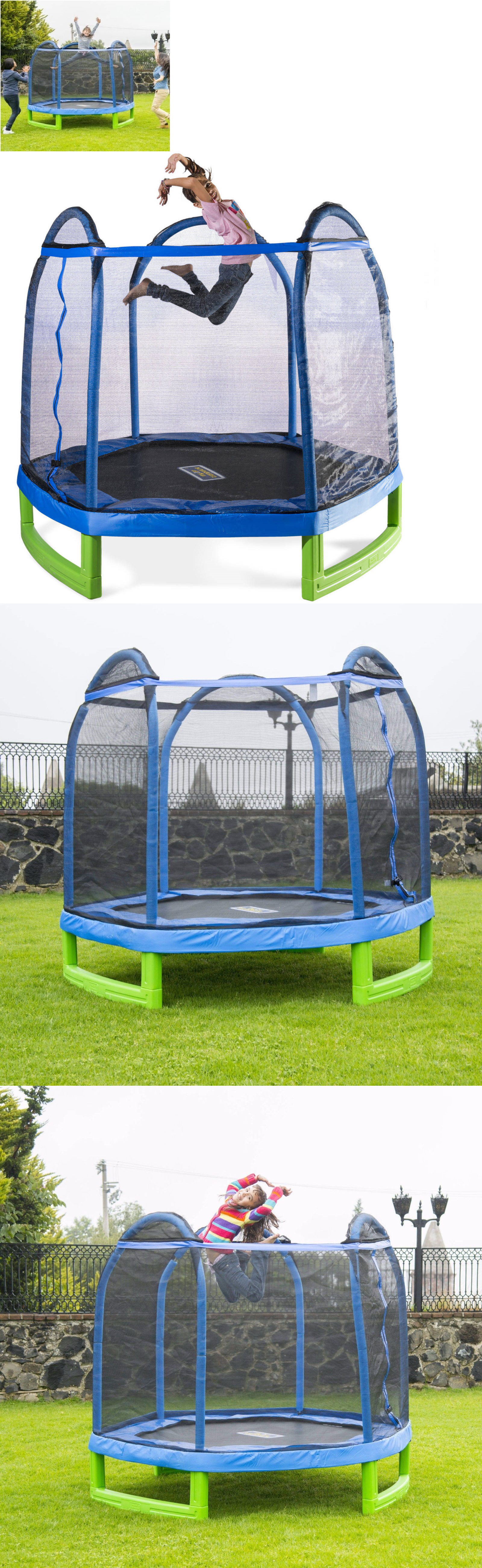 trampolines 145999 bounce pro 7 my first trampoline hexagon ages