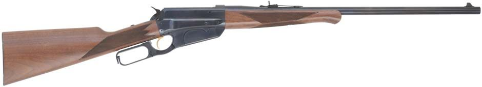 model 1895 winchester lever action rifle - .405 caliber winchester - 24 inch barrel - checkered walnut - tang safety