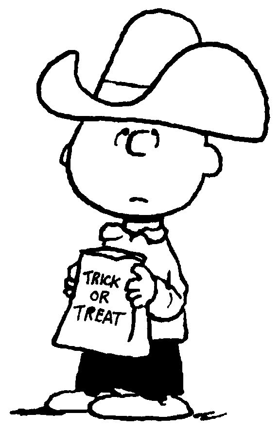 Printable Halloween Coloring Pages Peanuts Halloween Cartoon