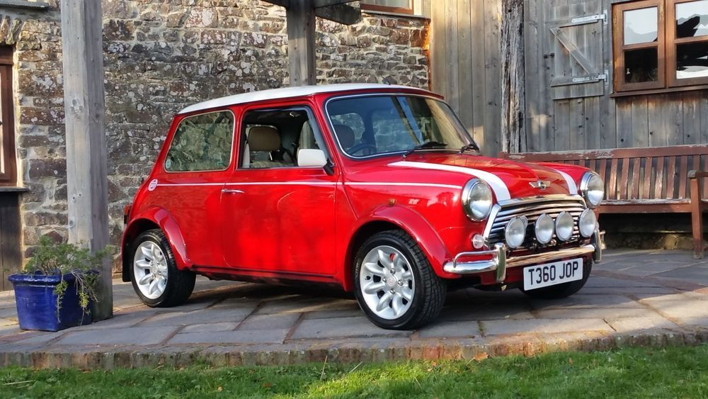 Ad Classic Mini Cooper Sport On Just 6900 Miles From New With