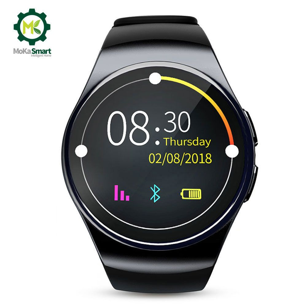MOKA Men Smart watch Android Phone MTK2502 Pedometer