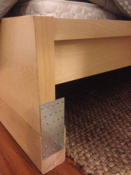 Project Hacking Raising The Malm For 30 Malm Bed Ikea Malm