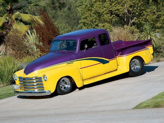 1952 Chevy Pickup Extended Cab Custom Classic Truck Classic