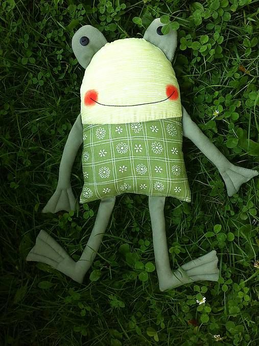 Frosch / Patchworks #babyteddybear