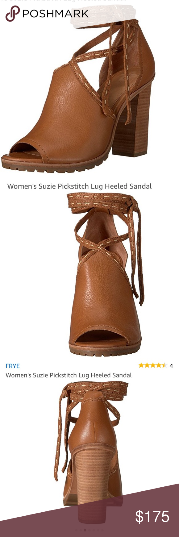 Suzie Pickstitch Lug Frye Cg6Cx