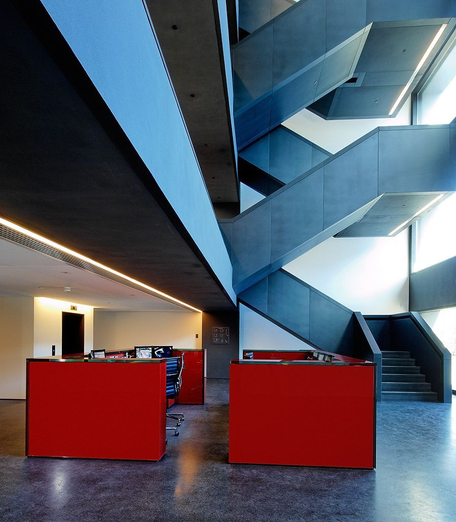 David ChIpperfield | Bufete Freshfields | Amsterdam, Paises Bajos | 2006 | Klomfar Architektur Fotografie