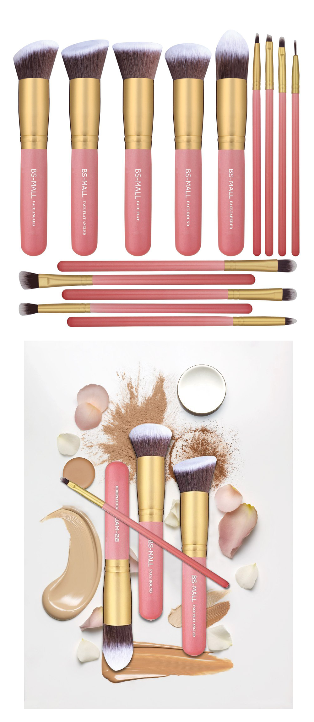 Get Younger Skin No Matter Your Age Makeup brush set
