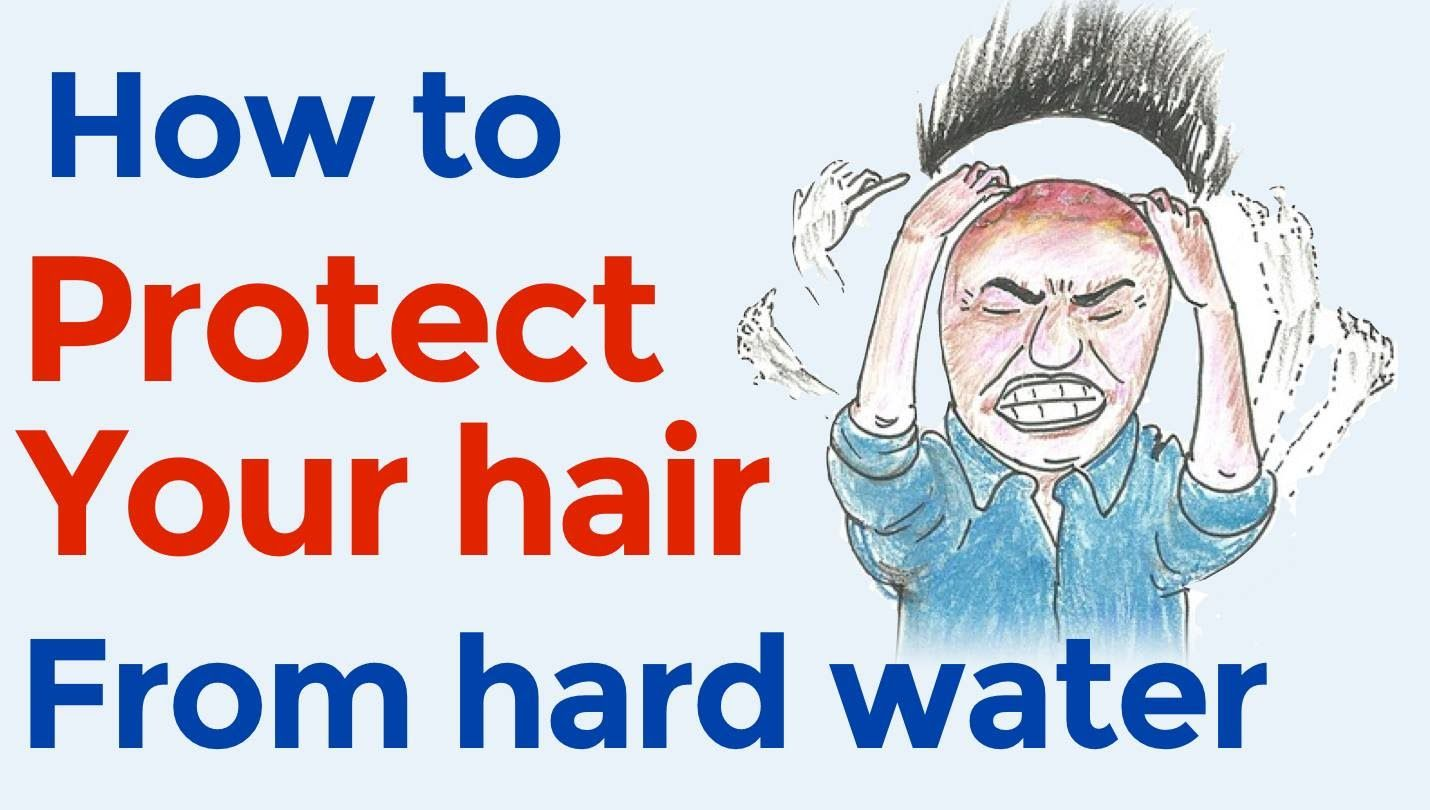Highly overlooked cause of hair loss: hard water // How to protect ...