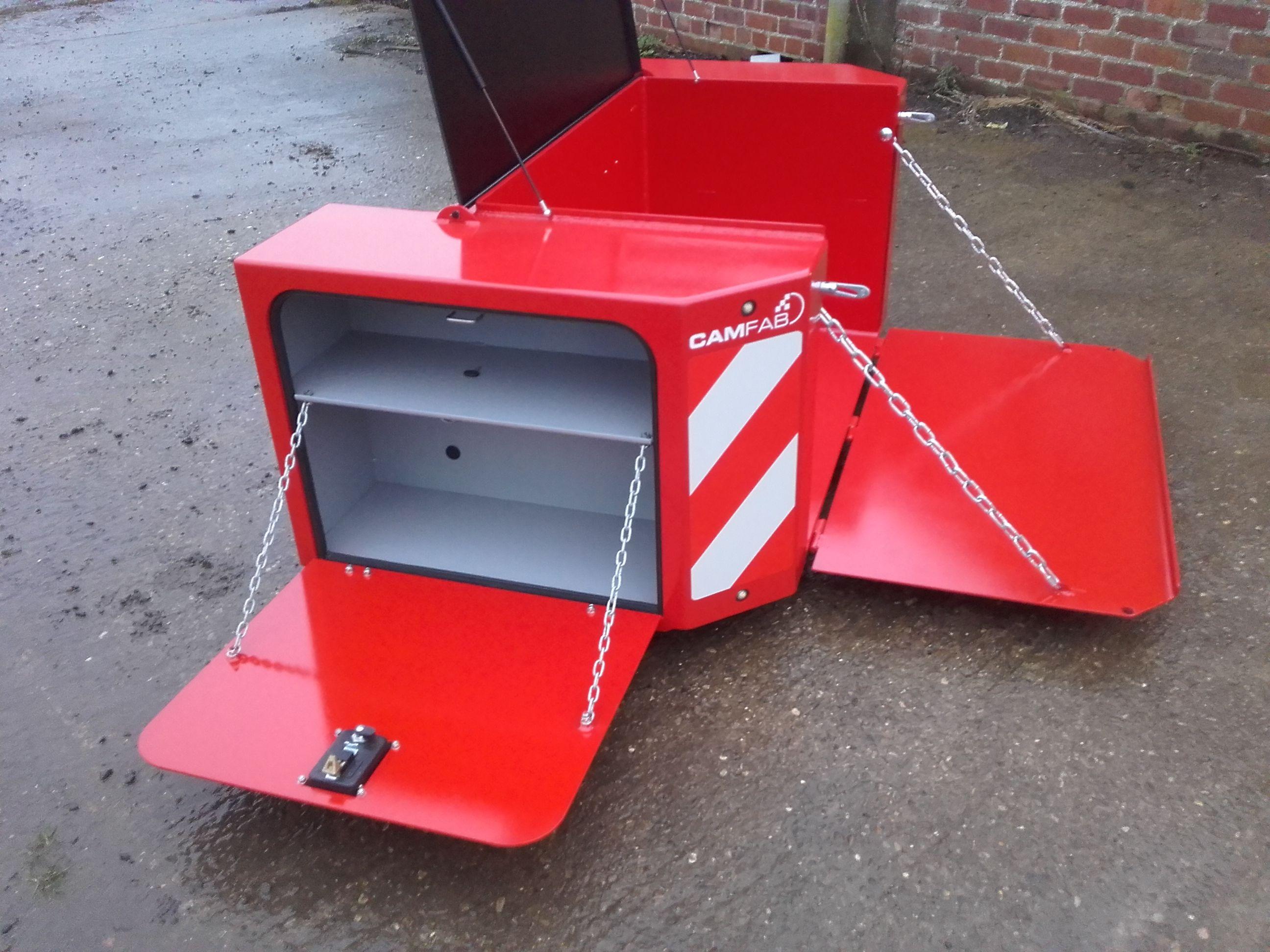 Weight Box Tractor Idea Welding Projects Garage Workshop
