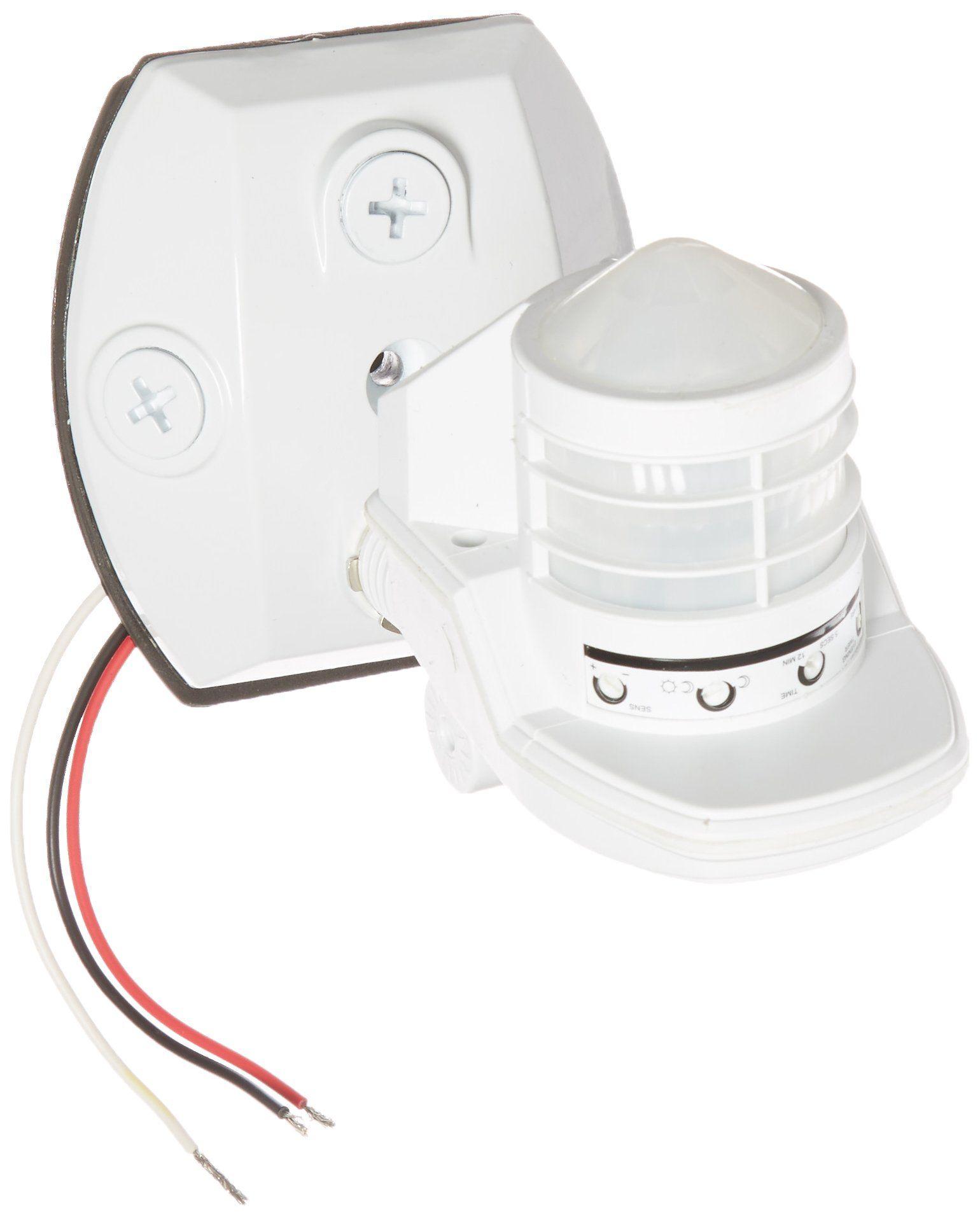 Rab Motion Security Light: RAB Lighting STL360W Super Stealth 360 Sensor, 360 Degrees