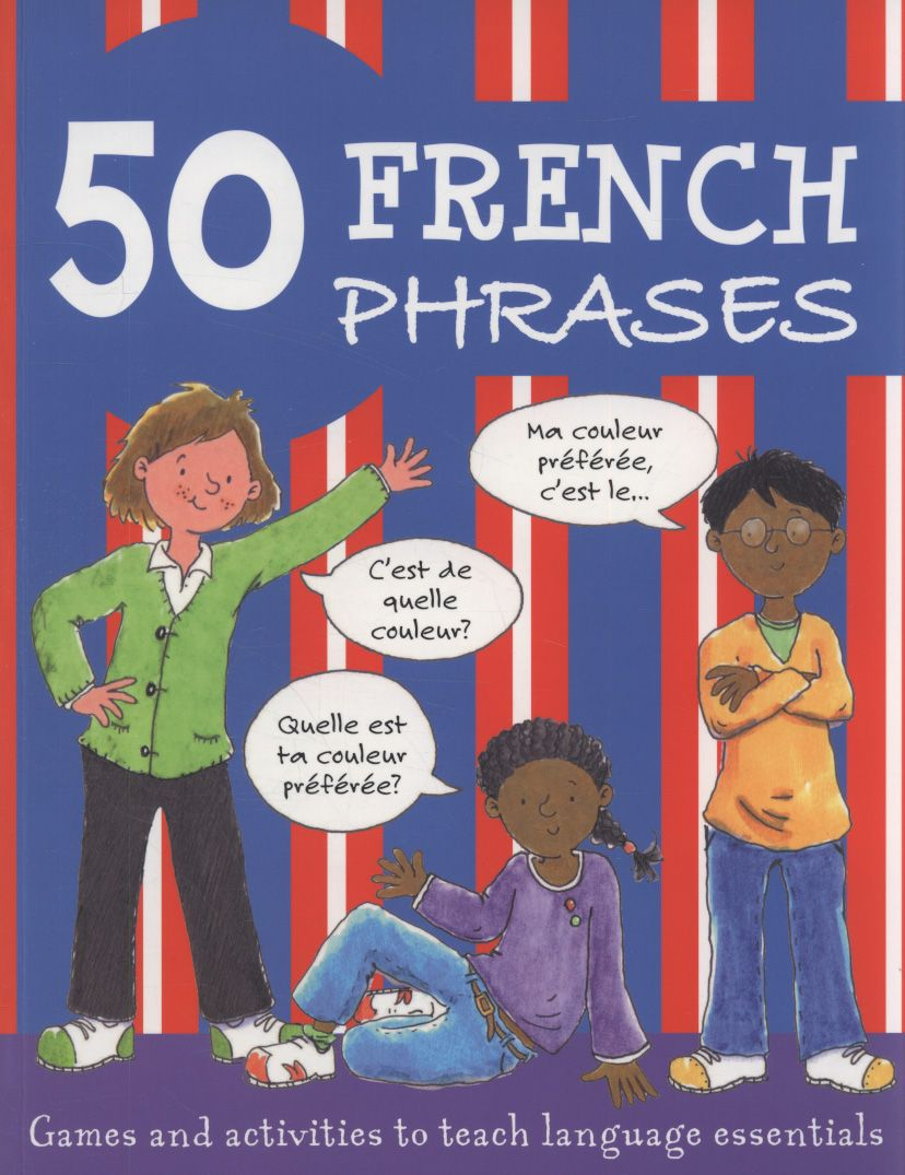 Learn 50 key phrases in French. A simple, colourful game