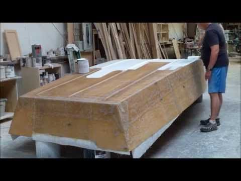 Homemade wooden boat - YouTube | Boats | Boat, Wooden ...