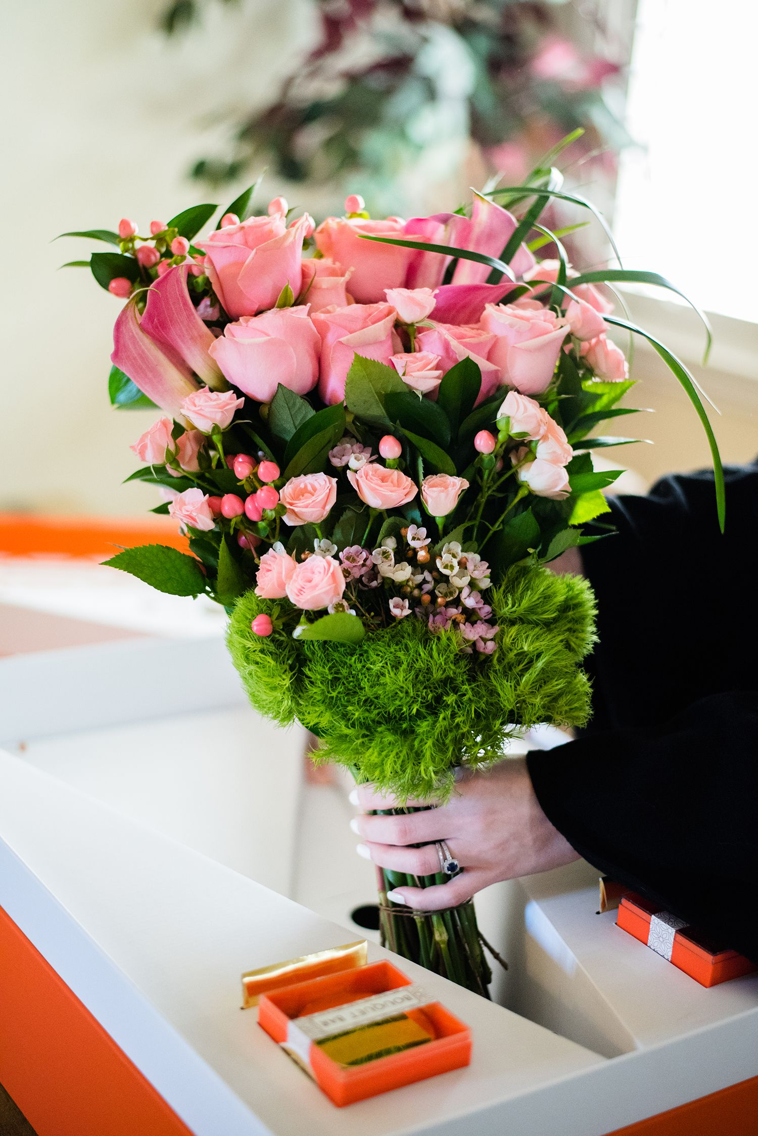 A floral affair valentines day flowers the a list