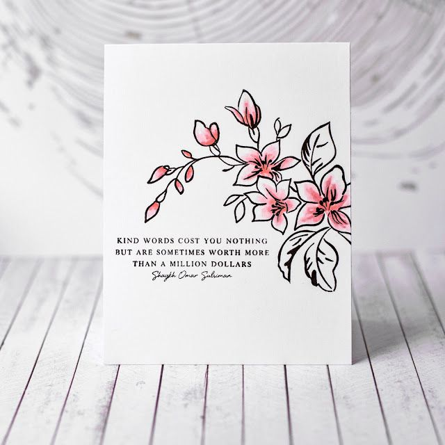 Altenew Beautiful Quotes + Best Mom Card | Fotinia Scrap