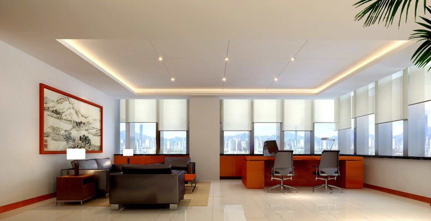 Modern design pictures 2013 modern minimalist ceo office for Office table 3d design