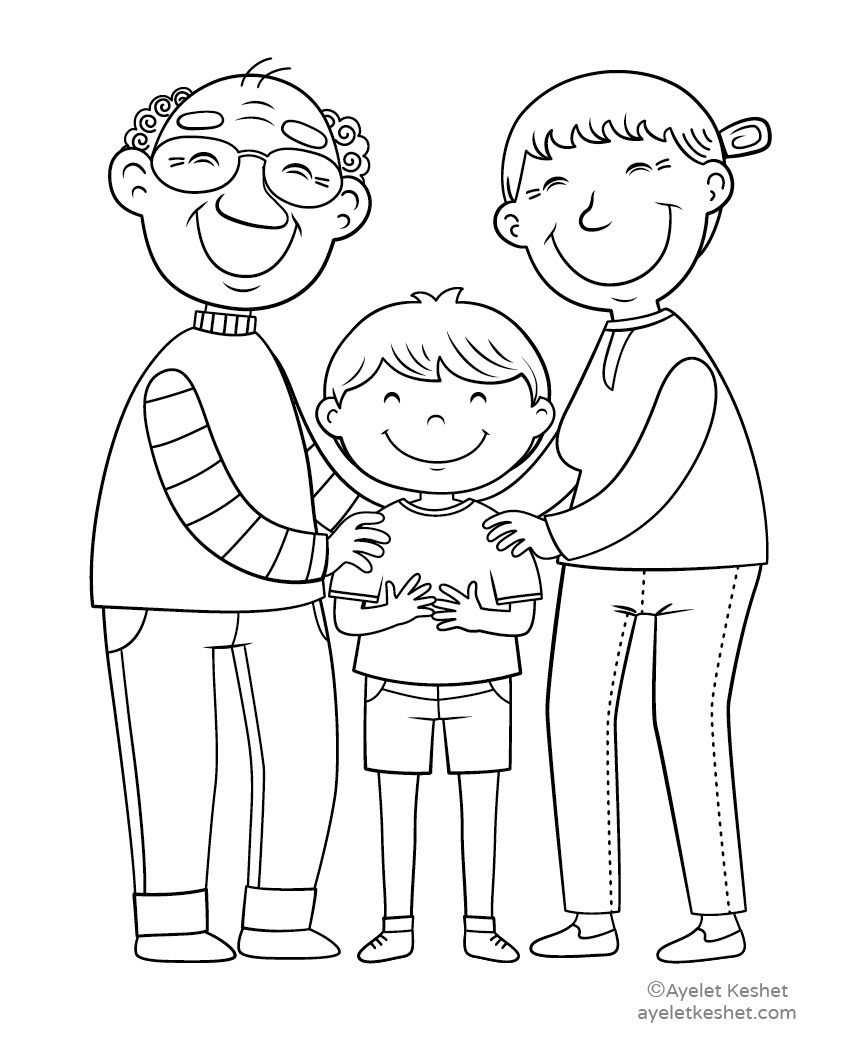 - Free Coloring Pages About Family That You Can Print Out For Your