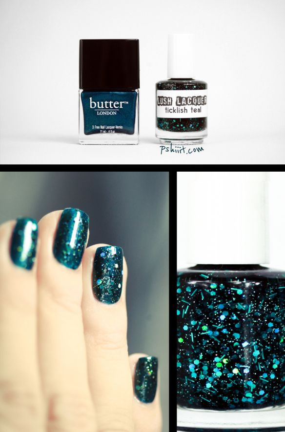 Ticklish Teal by lushlacquer