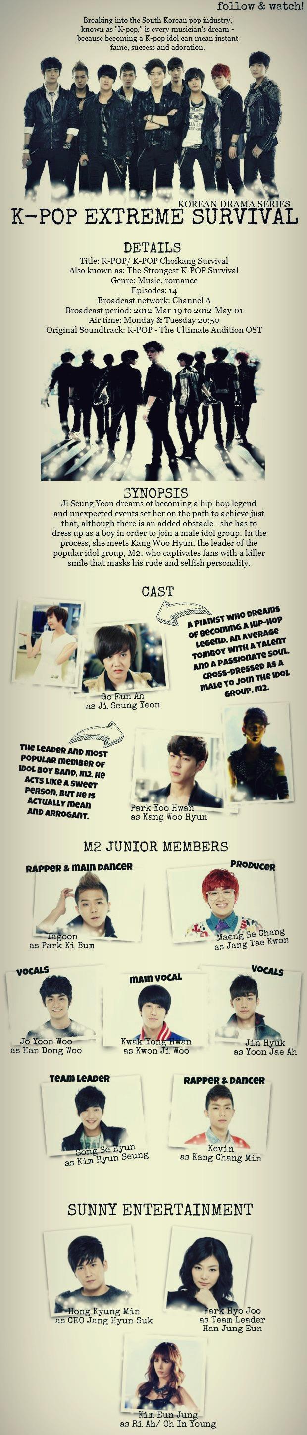 K Pop Extreme Survival Extreme Kpop Drama Movies