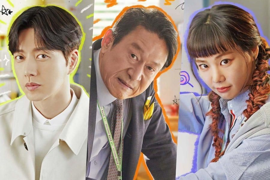 Park Hae Jin, Kim Eung Soo, Han Ji Eun, And More Star In Lively Character Posters For New Office Comedy
