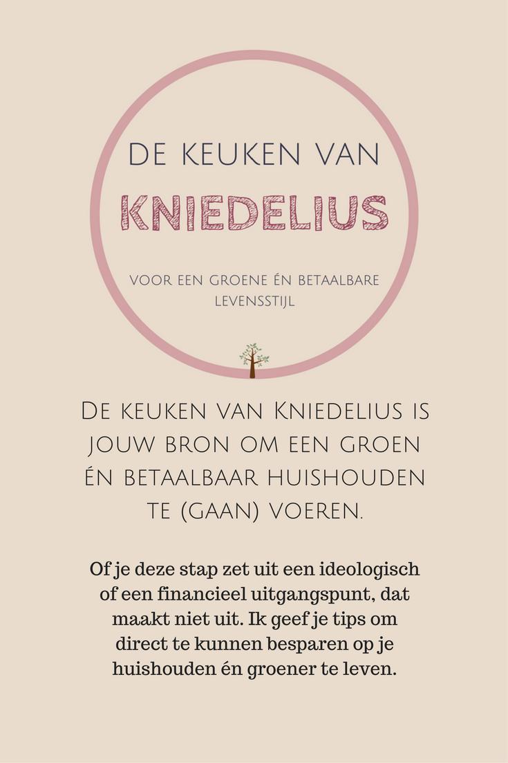 Wil jij groener leven, maar weet je niet hoe te beginnen? Steek dan eens je licht op bij de Keuken van Kniedelius. Vol DIY en tips.