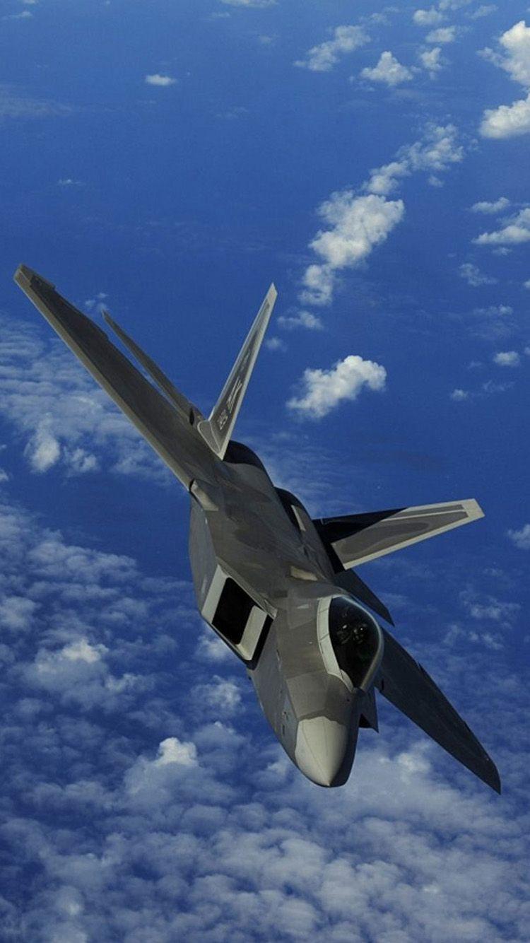 F-22 rapaz. | smartphone wallpapers | Pinterest | Aviação, Caças e Aviões de guerra