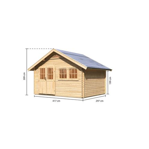 Karibu Gartenhaus Lucka 3 417 X 297 X 309 Cm Bxtxh Naturbelassen ǀ Toom Baumarkt In 2020 Gartenhaus Bausatz Karibu Gartenhaus Gartenhaus